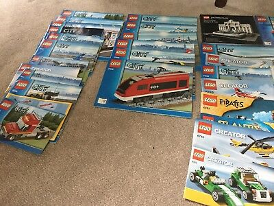Collection Of Lego And Manuals