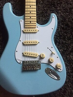 Stratocaster Classic 60s Style Electric Guitar Body Light Blue