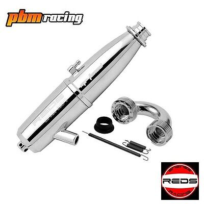 REDS Racing EFRA 2104 Tuned Pipe and S Manifold Set - REDKM210008