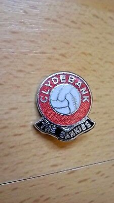 Clydebank FC `The Bankies` badge