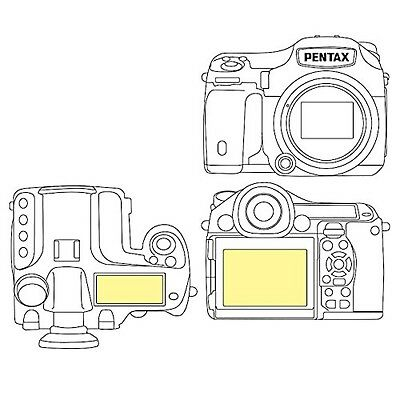 Martin Fields Overlay Plus Screen Protector (Pentax 645Z) - Includes Top LCD ...