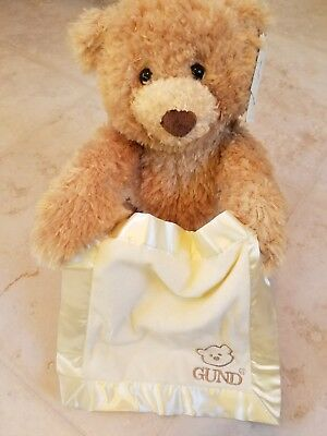 """GUND Toy-Plush-Peek A Boo Bear/Animated (11.5""""). New with tags! Works perfectly"""