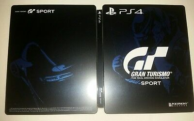 PS4 GT Sport Gran Turismo Sport G2 Steelbook perfect condition LIMITED NEW