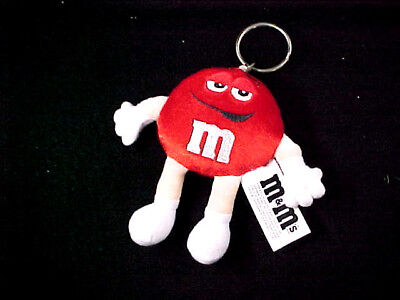 M&M Plush toy Key chain New in the original wrapper