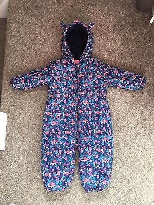 Girls Next Snowsuit 1.5-2 Years/ 18-24 Months. Perfect Condition