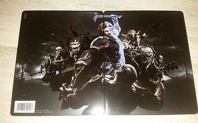 PS4 Schatten des Krieges Shadow of War Steelcase New and Sealed!!!