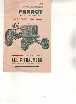 Original Brochure  Allis-Chalmers   Tractor