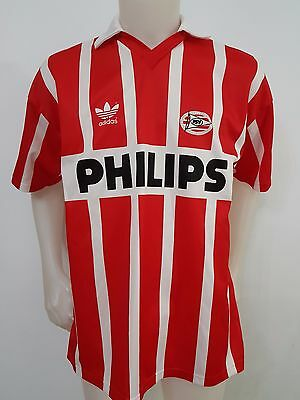 Maillot De Football Psv Philips Eindhoven Tg.7/8 Football Adidas Old Match S596