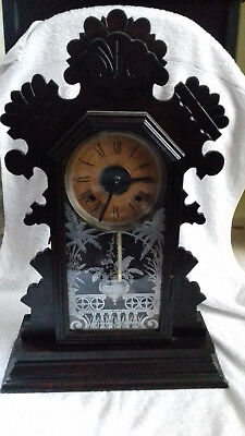 Antique Gingerbread clock in working order