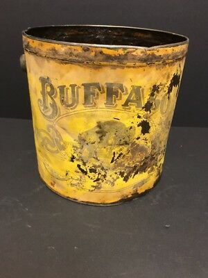 Buffalo Oil Tin,  oil can   No Province Stated. Pre 1920