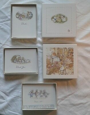 LOT Of  36  BRAMBLY HEDGE JILL BARKLEM BLANK NOTE CARDS,Matching Env