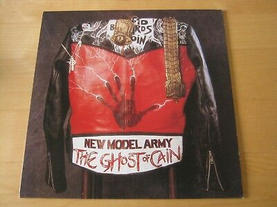 New Model Army 1986 EMI LP The Ghost of Cain EX PLUS THROUGHOUT