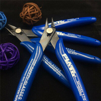 Electrical Wire Cable Cutters Cutting Side Snips Flush Pliers Nipper Hand