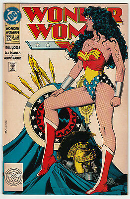 Wonder Woman #72 Classic Brian Bolland Cover DC 1993 F+/VF