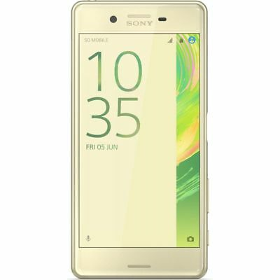 Sony Xperia Suitable For Performance 32 Gb F8131 - Lime Gold - Europe [No-Brand]