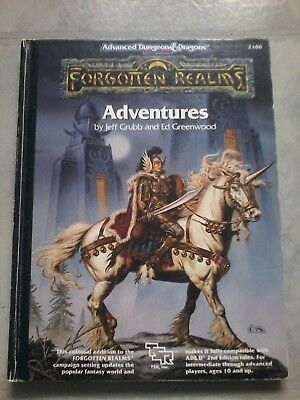 Forgotten Realms Adventures (2e) by Grubb and Greenwood
