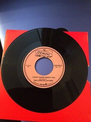 Northern Soul 45 The Constellations I Didn't Know How / I Don't Know About You