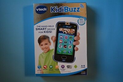 Brand New VTech KidiBuzz Hand-Held Smart Device Black Toy Phone For Kids NEW