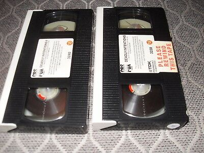 Deadly Intentions (1985). VHS. True life CBS/Fox No sleeve or case