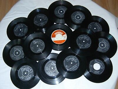 selection of 13 motown singles