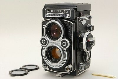 Almost MINT Rolleiflex 3.5F TLR 6x6 Film Camera Xenotar 75mm 3.5 from Japan a696