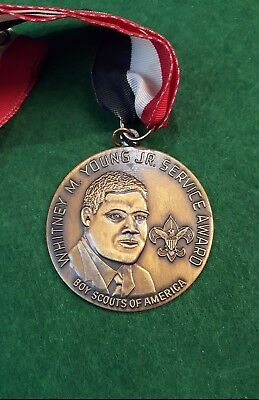 Whitney M. Young Jr. Service Award Medallion Boy Scouts of America