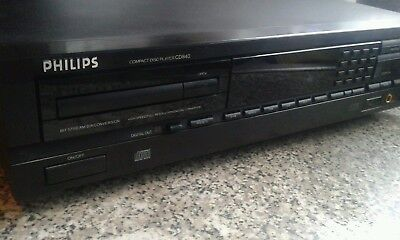 philips cd player cd840 mint condition cd850 and cd880 destroyer much better