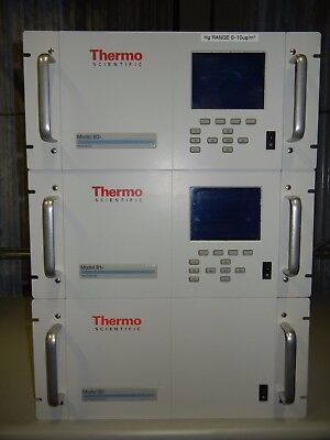Thermo HG monitoring system, includes 80i  analyzer, 81i  calibrator and 82i  pc