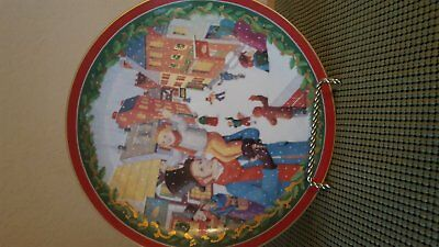 DEPT 56 DICKENS VILLAGE A Christmas Carol Collectible PLATE