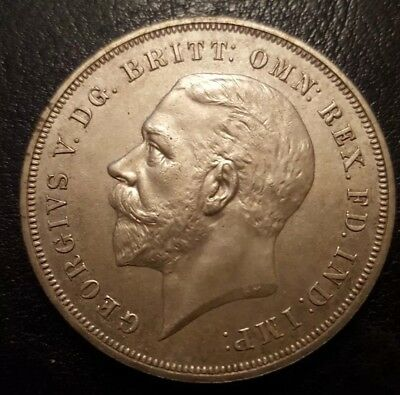 1935 George V Rocking Horse Crown Coin