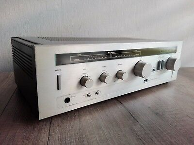 Vintage Silber SANSUI A-5 Intergrated Amplifier-Made in Japan