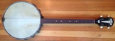 Vintage KAY Banjo - 4 String Project Piece AS-IS - Open Back Antique