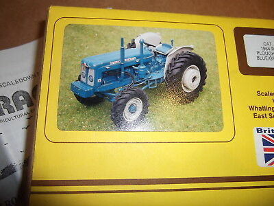 Scaledown 1964 Roadless Ploughmaster 6/4 Blue/grey 1:32 Diecast Tractor Kit