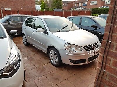 Vw Polo 2008 1.4 Petrol Manual - Silver 12Month Mot 74K