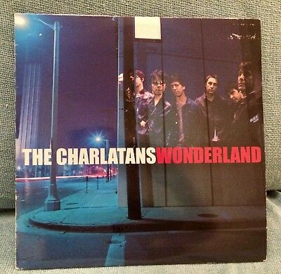 The Charlatans Wonderland Vinyl 2001 Deleted Ex