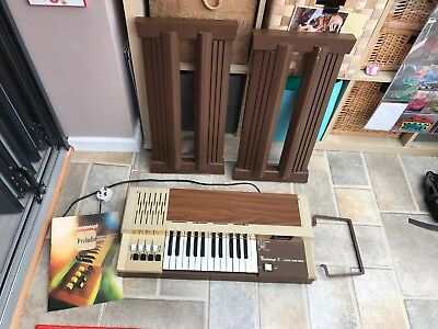 70s Vintage BONTEMPI 5 organ / keyboard Complete with legs VGC Works fab