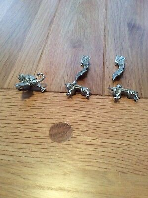 Games Workshop Man o'War Dark Elf and Chaos Dwarf riders Rare OOP