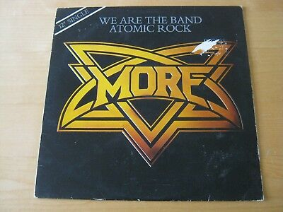More 1981 Atlantic 12-inch single We are the Band / Atomic Rock, picture sleeve