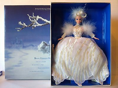 Mattel Snow Princess Barbie Limited Edition Enchanted Seasons Collection NIB