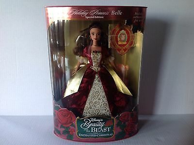 Mattel Disney Holiday Princess Belle from Beauty and the Beast  MIB