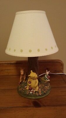 Vintage Classic Winnie the Pooh Lamp - Apple Collection