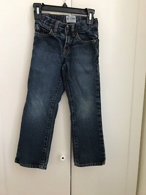 The Children's Place Classic Bootcut Boy''s Jeans Sz 5 Slim PREOWNED