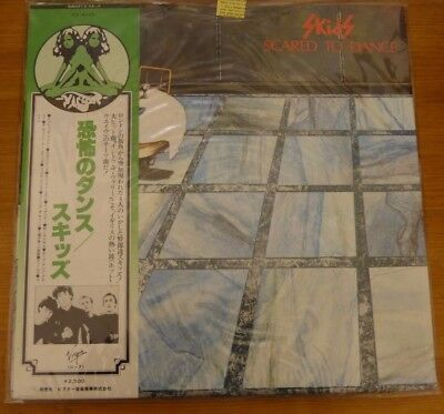 Skids - Scared To Dance Vinyl LP With Japanese OBI strip