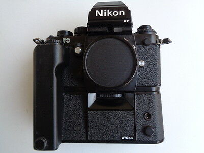 Nikon F3 HP Body mit MD4 Motor