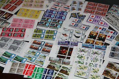 GB 1960's - OVER 50 CYLINDER BLOCKS FOR VARIOUS COMMEMORATIVE SETS
