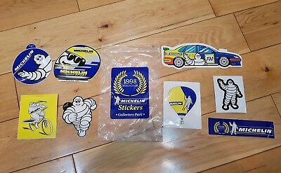 Michelin Collectors Pack Stickers 1998