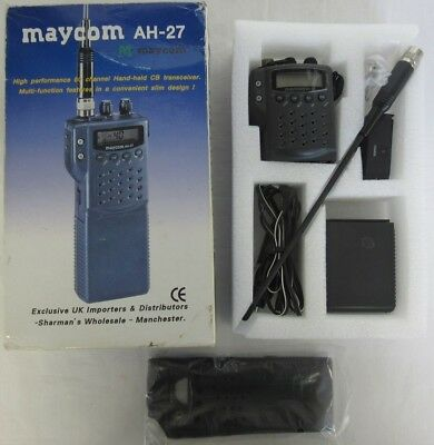 Maycom AH-27 80 Channel Hand-Held CB Transceiver.