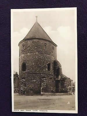 Early 20th Century TUCK'S TUCK POSTCARD NORFOLK - Great Yarmouth N.W. Tower