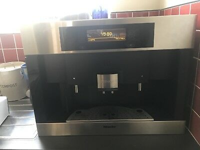 Miele CVA 4080 Coffee Maker - Built In Bean To Cup Machine Integrated