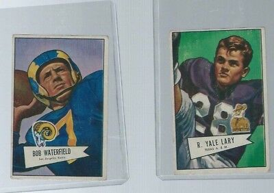 1952 Bowman Football #140 Yale Lary